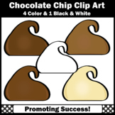 Chocolate Chips Clip Art SPS