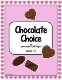 Chocolate Choice - A Valentine-themed open-ended Math project