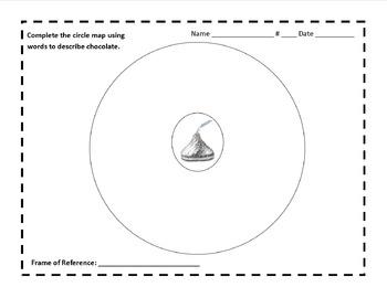 Chocolate Circle Map