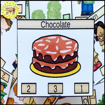Chocolate Task Cards