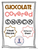 Chocolate Covered Valentine's Day Snack