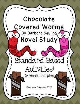 Chocolate Covered Worms Novel Study