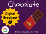 Chocolate - Digital Breakout! (Escape Room, Brain Break, Easter)
