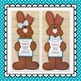 Chocolate Easter Bunny Craft:  Poem and  Class Book: Spring Craft