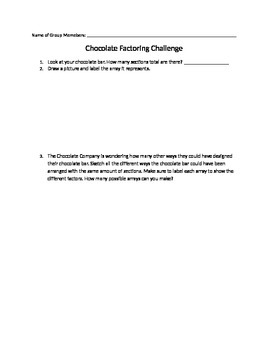 Chocolate Factor Challenge