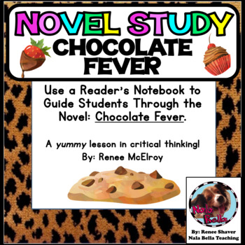 Chocolate Fever Chapter Questions and Graphic Organizers