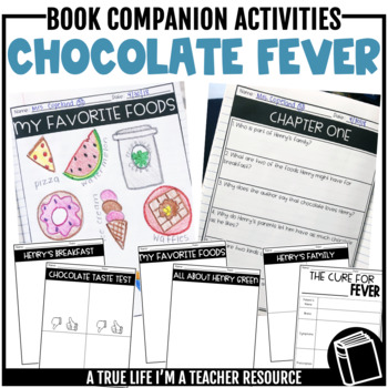 Chocolate Fever Companion Activities