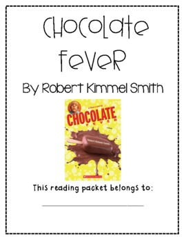 Chocolate Fever Guided Reading Packet