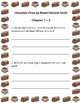 Chocolate Fever - Guided Reading Questions and Vocabulary