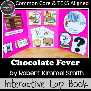Chocolate Fever Interactive Novel Study (Notebook or Lap Book)