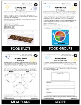 Chocolate Fever - Literature Kit Gr. 3-4 - BONUS WORKSHEETS