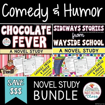 Chocolate Fever and Sideways Stories from Wayside School: Comedy Humor Bundle
