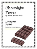 Chocolate Fever, by R.K. Smith, Literature Unit, 40 Total Pages!