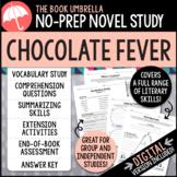 Chocolate Fever Novel Study - Distance Learning - Google Classroom