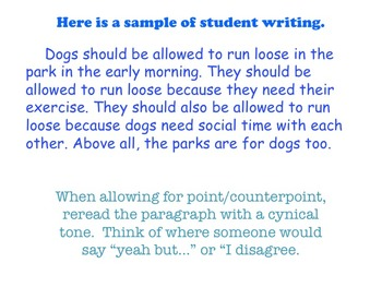 Pointcounterpoint On Every Student >> Chocolate Milk Argument A Common Core Opinion Writing Unit