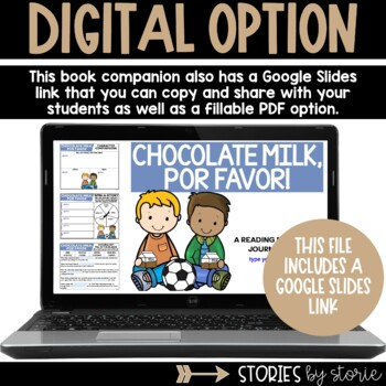Chocolate Milk, Por Favor! (Book Activities and Milk Carton Writing Craft)