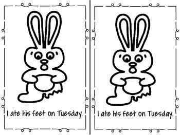 Chocolate Rabbit Emergent Reader