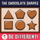 Chocolate Shapes Clipart
