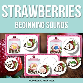 Chocolate Strawberries Beginning Sounds