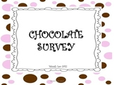 Chocolate Survey/fun activity for 2nd-3rd grade students