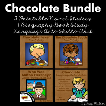 Chocolate: The Chocolate Touch and Chocolate Fever Printable Book Unit