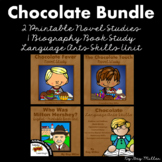 The Chocolate Touch & Chocolate Fever Novel Study:vocabulary, comprehension more