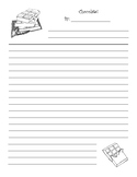 Chocolate Theme Writing Pages