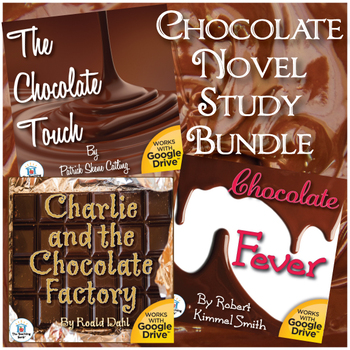 Chocolate Themed Novel Study Book Unit Bundle