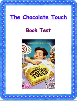 Chocolate Touch Book Test
