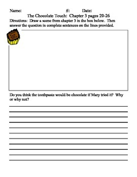 Chocolate Touch Chapter Questions