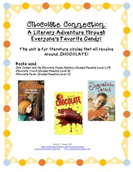 Chocolate Touch, Chocolate Fever, and Chocolate Fudge Mystery Literature Circles