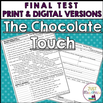 The Chocolate Touch Final Test