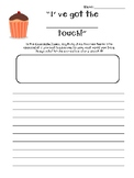Chocolate Touch Writing Activity