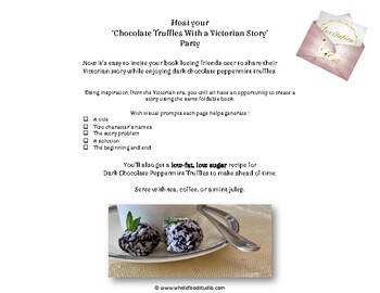 Chocolate Truffles and a Victorian Story
