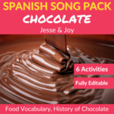 Chocolate by Jesse y Joy: Spanish Song to Practice Food Vo