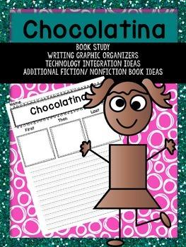 Chocolatina Book Study Graphic Organizers