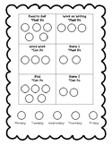 Choice Board: 6 Stations