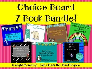 Choice Board 7 Book Bundle