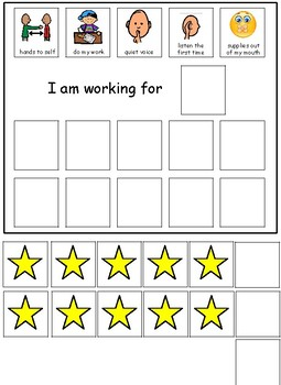Choice Board-Behavior Management