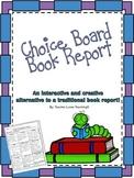 Choice Board Book Report