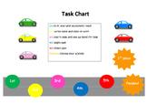 Behaviour Chart Car Theme