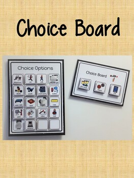 Choice Board & Choices