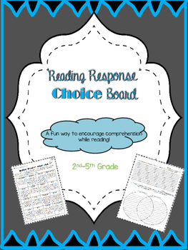 Choice Board Comprehension Set
