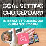 Goal-Setting Choice Board