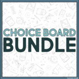 Choice Boards Bundle