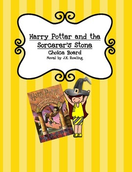 Choice Board - Harry Potter and the Sorcerer's Stone