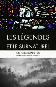 Choice Board: Les Légendes et le surnaturel