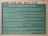 Choice Board- Me and Uncle Romie (Reading Street) THIRD GRADE