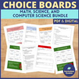 Choice Board Mega Bundle for Middle School