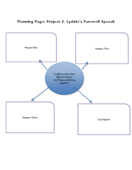 Choice Board Packet for the novel Lyddie